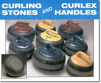 Curling Stones & Handles