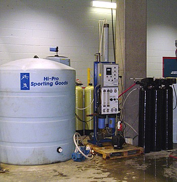 Demineralized Flood Water System