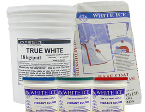 White ice paint